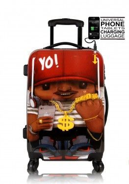 Cabin Luggage RAPPERIST